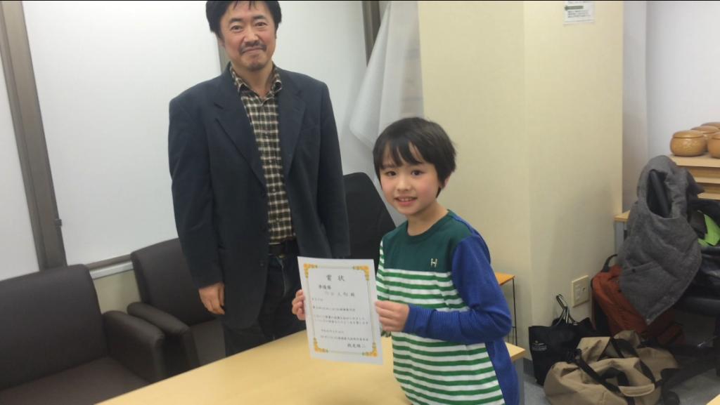 準優勝は15級の内田くん!よく頑張りました^^