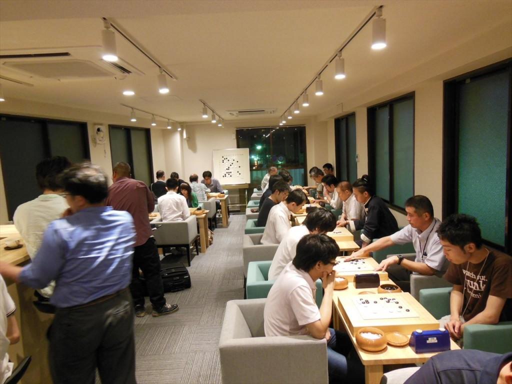 第6回13路大会_永代塾囲碁サロン全景