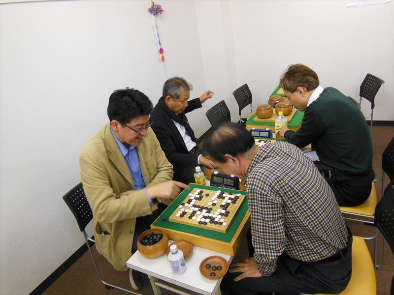 13路の碁も二人の共同作業。一局一局にドラマがあります。