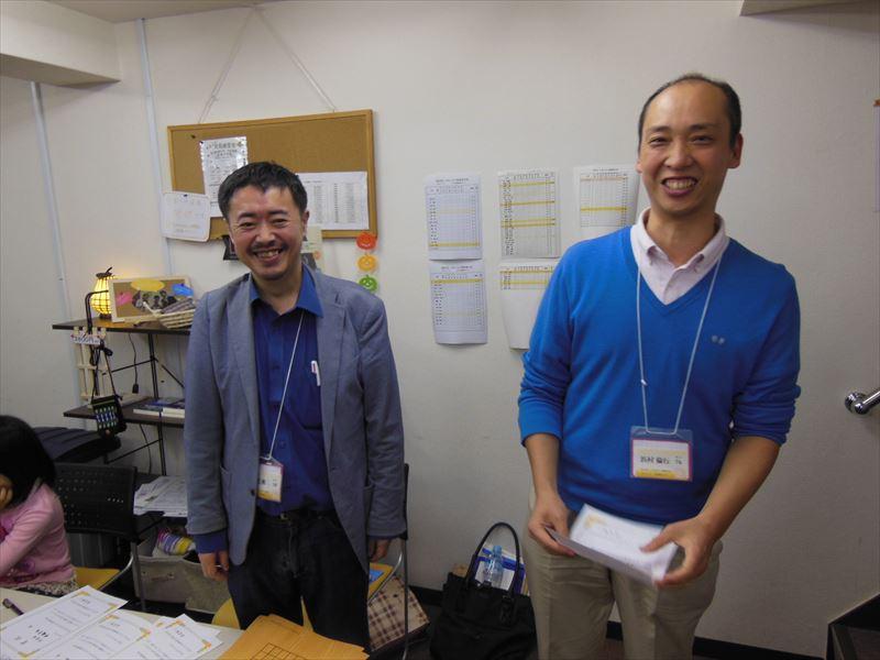 下のクラスで優勝した浜村倫行さん。会社で昼休みに同僚の方と13路で練習されていたそうですが、それが実ったようですね。